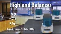 Adam Equipment | Highland Portable Precision Balance | Oneweigh.co.uk